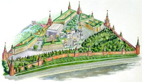 Здания Московского Кремля