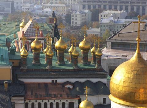 Верхоспасский собор и теремные церкви