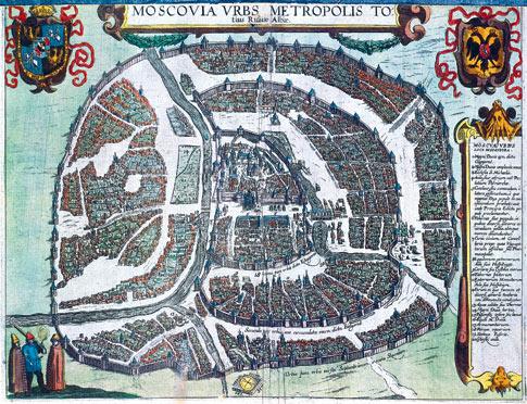 План Москвы 1610 года