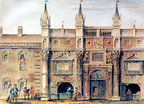 Печатный двор на Никольской улице. XVIII век