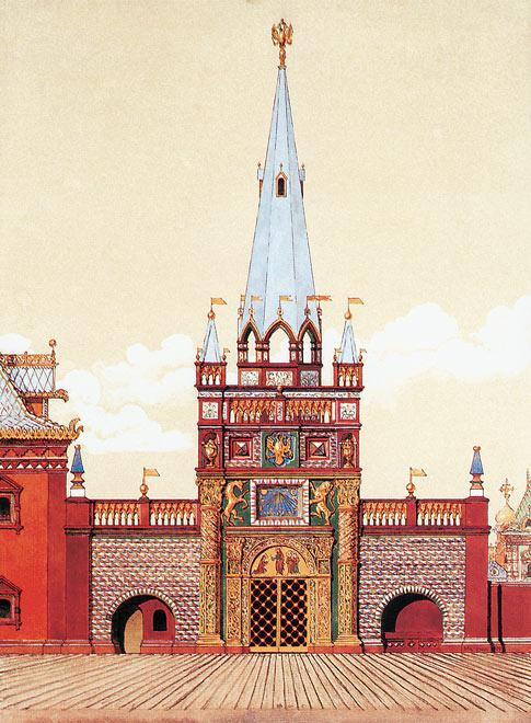 Башня Печатного двора. XVII век