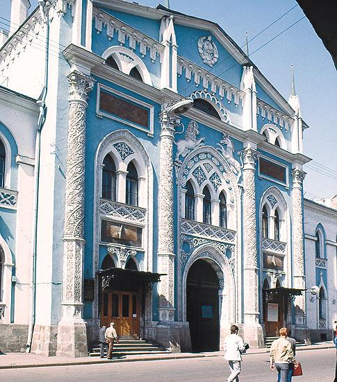 Здание бывшей Синодальной типографии