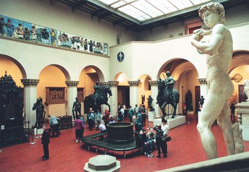 Итальянский дворик Музея изобразительных искусств имени А.С. Пушкина