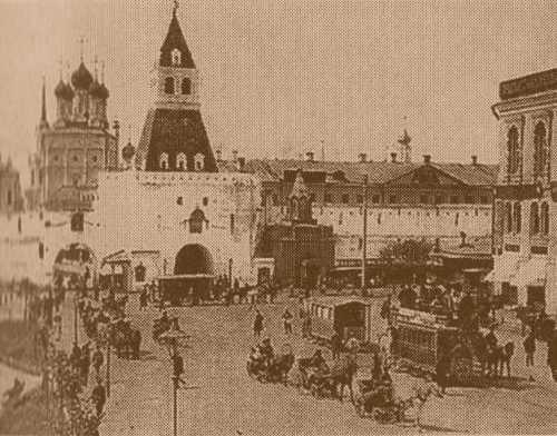 Старая площадь и Ильинские ворота