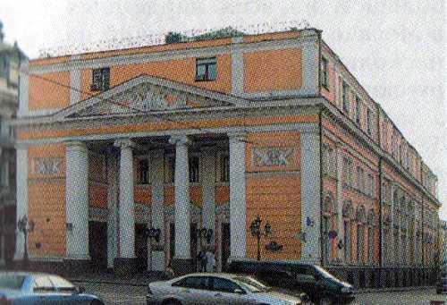 Здание Биржи в Москве