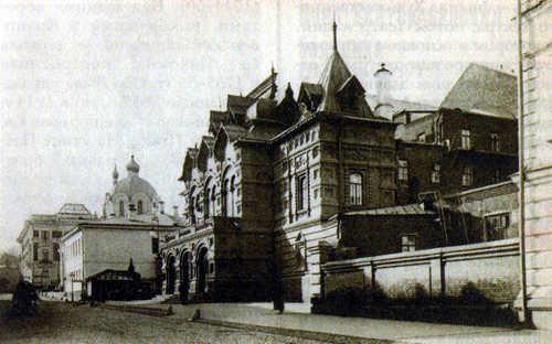 Театр Корша в Богословском переулке