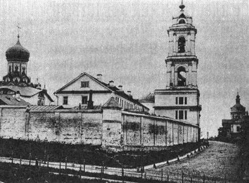 Вид Рождественского монастыря, 1881 год