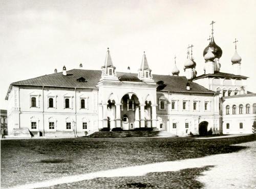 Чудов монастырь, фото Н.А. Найдёнова, 1883 г.