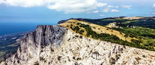 Вид на Южный берег Крыма