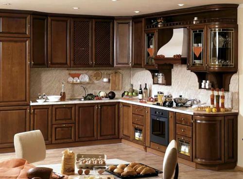 деревянная мебель для кухни от производителя